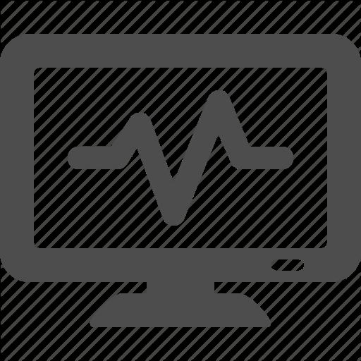 Computer, Health, Monitor, Network, Screen, Tv Icon