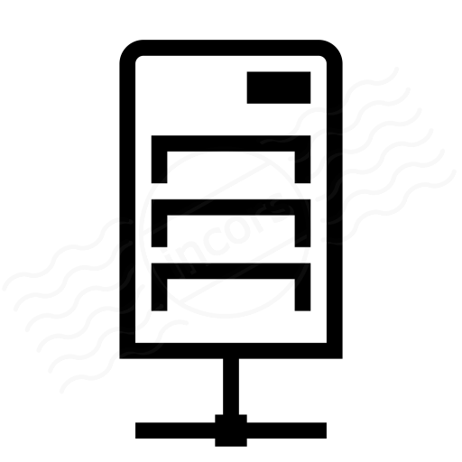 Iconexperience I Collection Server Network Icon