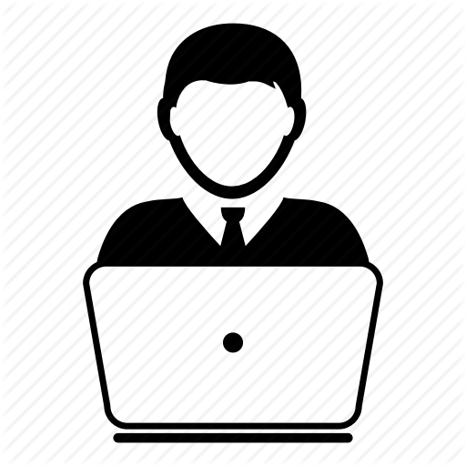 Business, Computer, Consultant, Laptop, Man, Person, User Icon