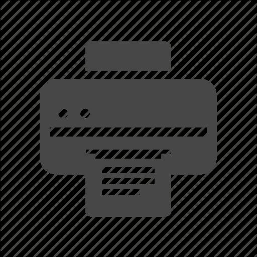 Computer, Computer Network Printer, Printer Icon