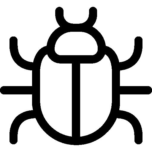 Malware, Computer, Virus, Flaw, Animals, Failure, Error, Bug Icon