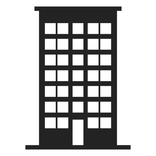 Tall Building Home Icon