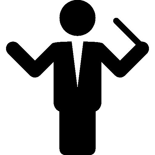 Music Music Conductor Icon Windows Iconset