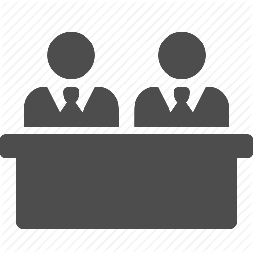 Businessman, Businessmen, Desk, Man, Meeting, Men, Table Icon