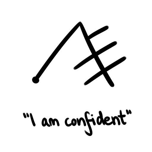 Confidence Sigil Pagans Witches Amino