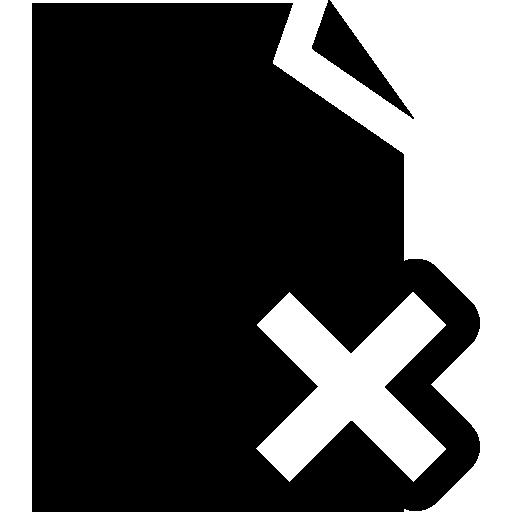 Delete Symbol Icons Free Download