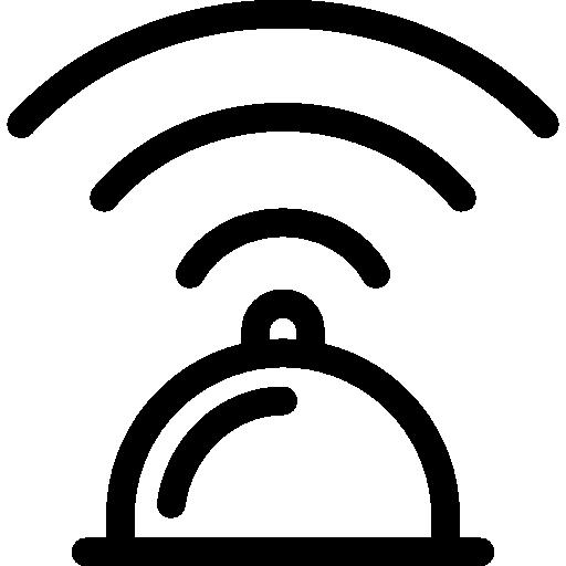 Wifi Connection Icon Restaurant Elements Freepik