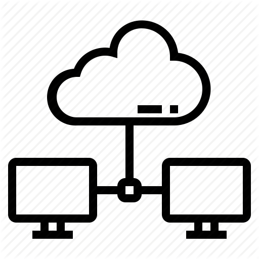 Cloud, Computer, Connectivity, Lan, System Icon