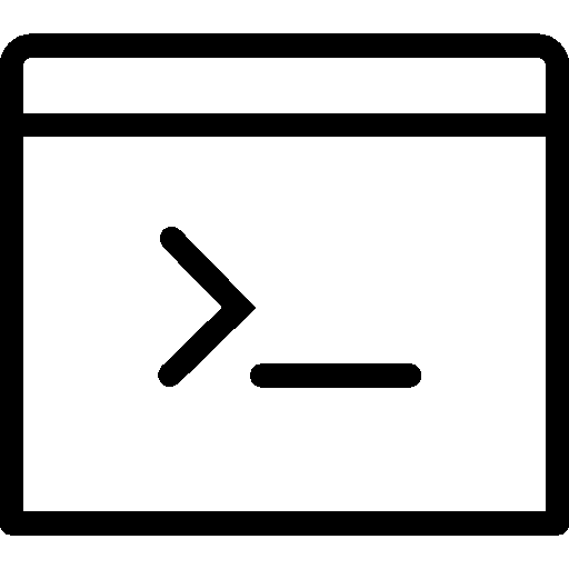 Programming Console Icon Ios Iconset