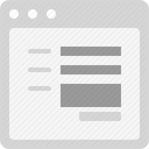 Contact, Contact Form, Form, Web Form Icon