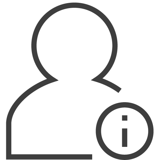 User Info Icon Silky Line User Iconset Custom Icon Design