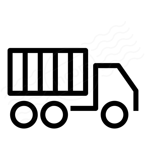 Iconexperience I Collection Truck Container Icon