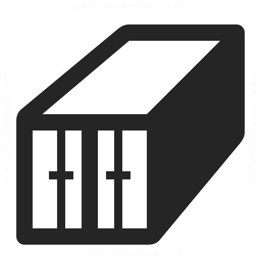 Cargo Container Icon Iconexperience