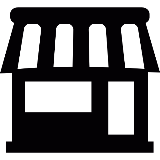 Store, Warehouse, Online Store, Commerce, Convenience Store Icon