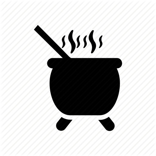 Cooking, Hot, Pot Icon