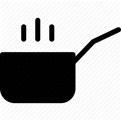 Boiling, Cooking, Cooking Pan, Cooking Pot, Heating Icon