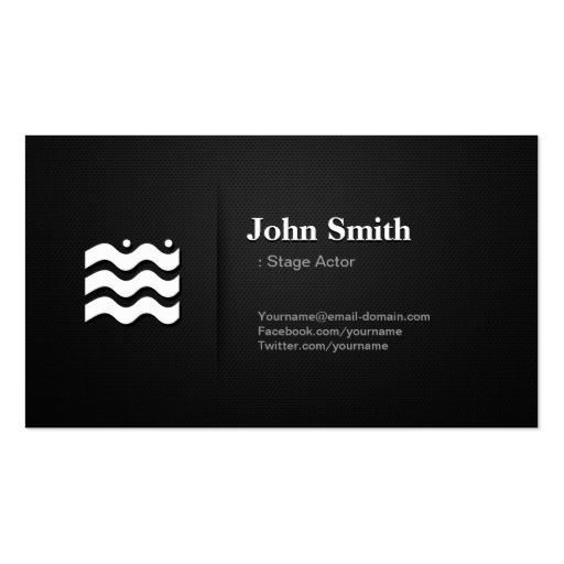 Icon Business Card Templates Bizcardstudio