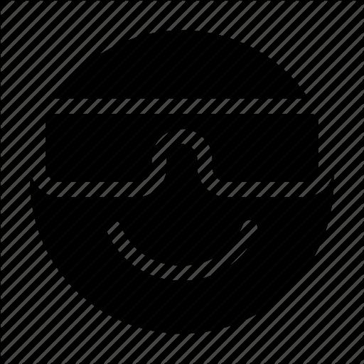 Cool, Emoji, Emoticon, Expression, Glasses, Impressive, Perky Icon