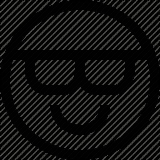 Cool, Emoji, Emotion, Feeling Icon
