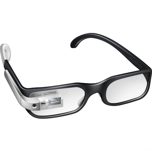 Cool Google Glasses Icon Google Glass Iconset Aha Soft