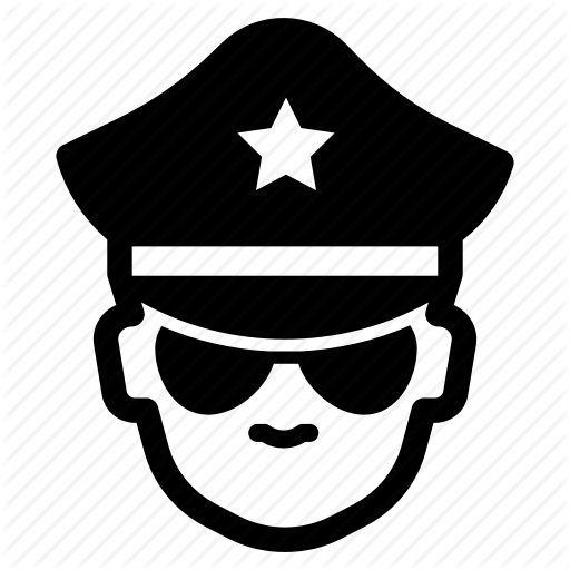 Agent, Authority, Cop, Enforcement, Law, Officer, Police Icon