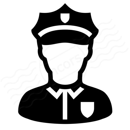Iconexperience I Collection Policeman Icon