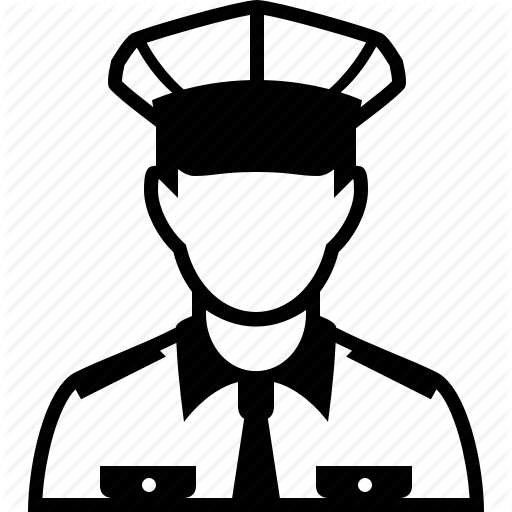 Cap, Cop, Fireman, Guard, Police Officer, Policeman, Sheriff Icon