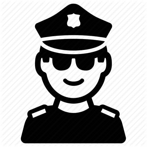Cop, Justice, Police Officer, Policeman Icon