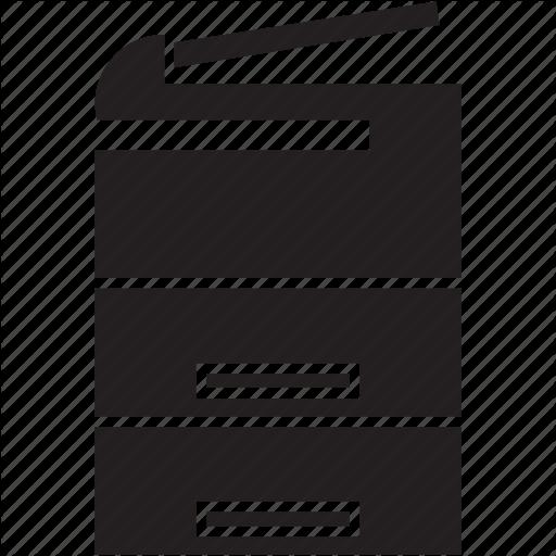 Copier, Copy, Copying, Machine, Photocopier, Xerography Icon