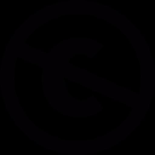 Logo, Prohibition, Creative, Forbidden, Commons, Copyright Icon
