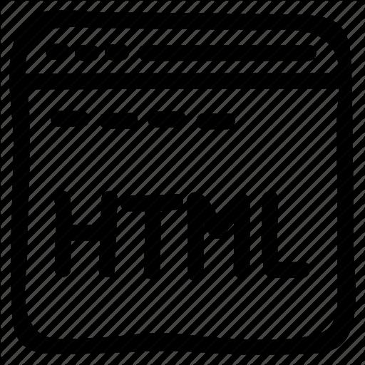Coding, Html, Internet, Programming, Webpage Icon