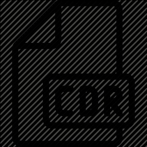 Cdr, Coreldraw, Document, Icon