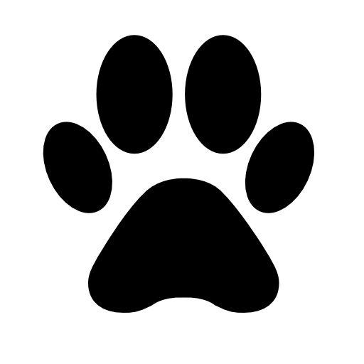 Dog Paw Free Vector Icons Designed