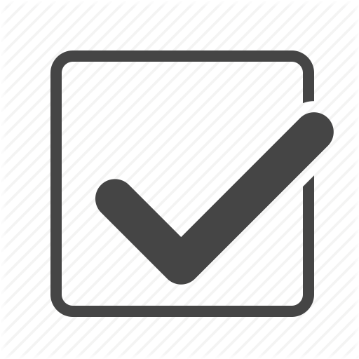 Vector Checkmark Correct Transparent Png Clipart Free Download