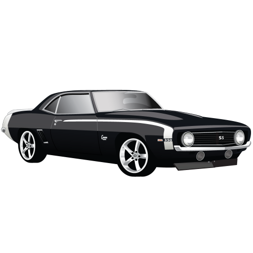 Muscle Car Chevrolet Camaro Ss Icon Classic American Cars
