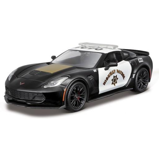 Corvette Models Diecast Police Cars