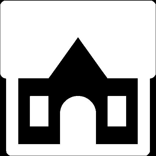 White Cottage Icon