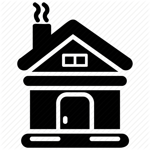 Cottage, Forest Chalet, Forest Hut, House, Summer House Icon