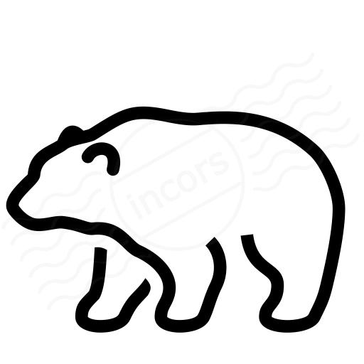 Iconexperience I Collection Bear Icon