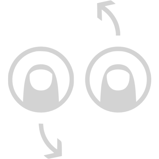 Light Gray Rotate Counter Clockwise Icon