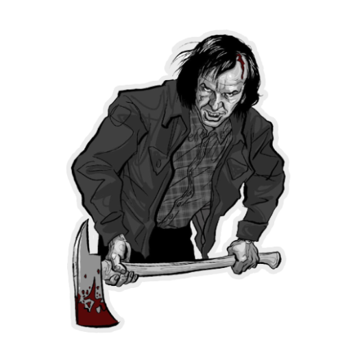 Jack Torrance Decal Counter Strike Source Sprays