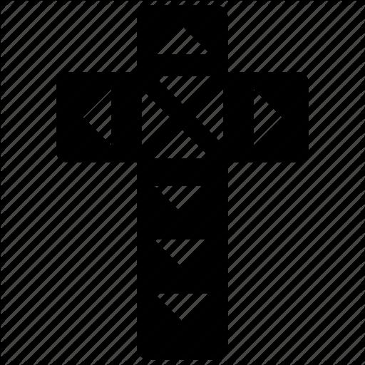 Ancient Symbol, Christianity Symbol, Tattoo, Tribal Logo, Tribal