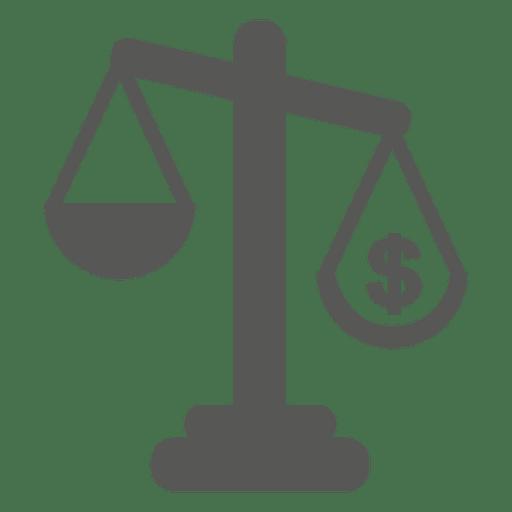 Court Scale Judgement Icon