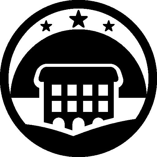 Rural Hotel Logo Icons Free Download