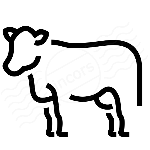 Iconexperience I Collection Cow Icon