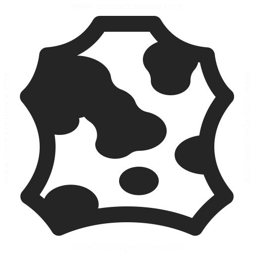 Skin Cow Icon Iconexperience