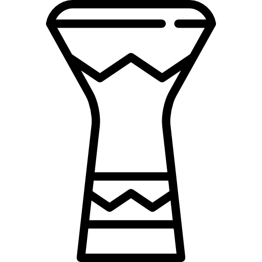 Percussion Instrument Flat Icon