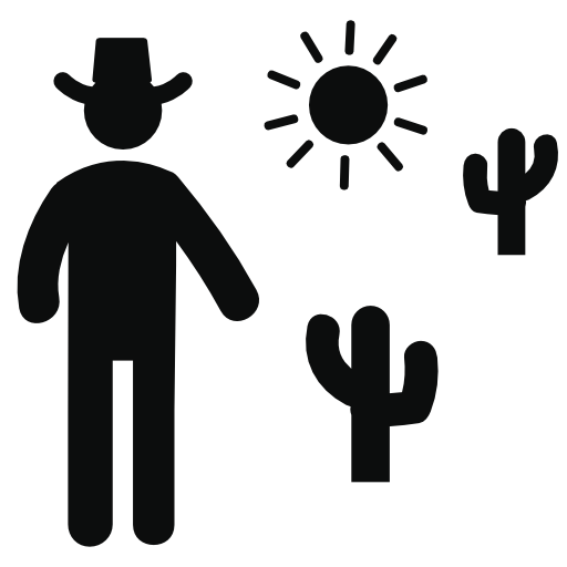 Collection Of Cowboy Icons Free Download