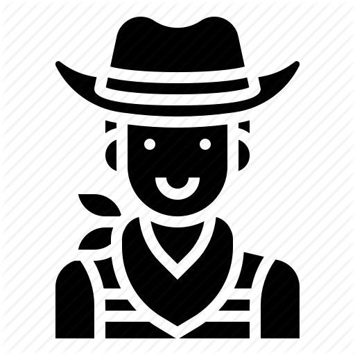 Avatar, Cowboy, Human, Male, Man Icon