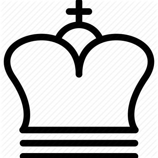 Chess, Chess Piece, Creative, Crown, Grid, King, Line, Piece